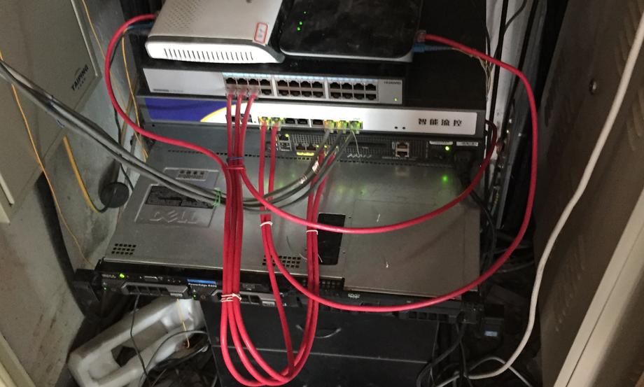 做一回公司网管,粗看本人现在公司办公网络
