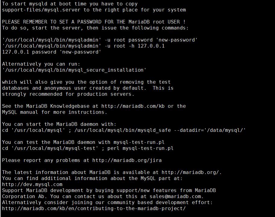 MariaDB/MySQL在 CentOS 6.6上的编译安装/二进制源码包+授权详解