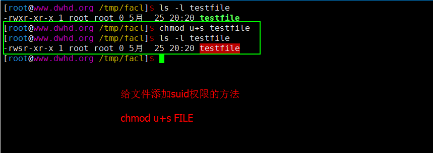 Linux基础入门之文件特殊权限
