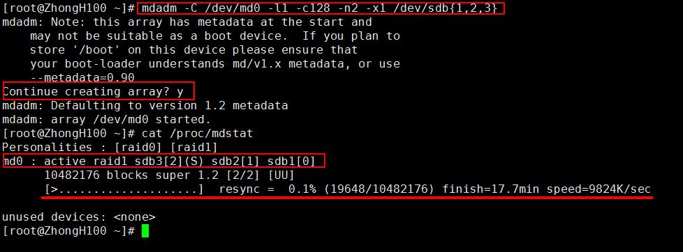 RAID详解,Linux系统下使用mdadm程序实现常用软件RAID的各种配置