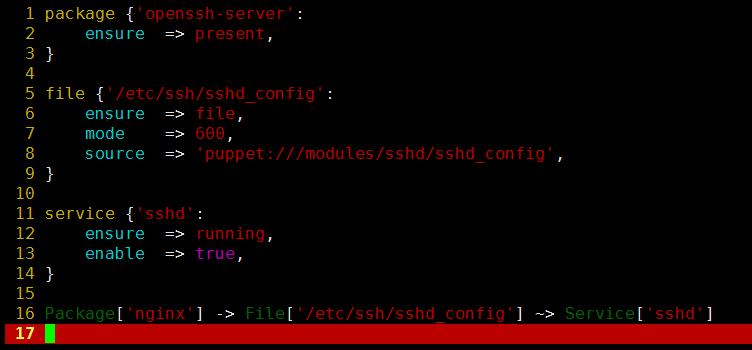 Linux自动化运维之puppet2.7&3.7安装和常用类型详解