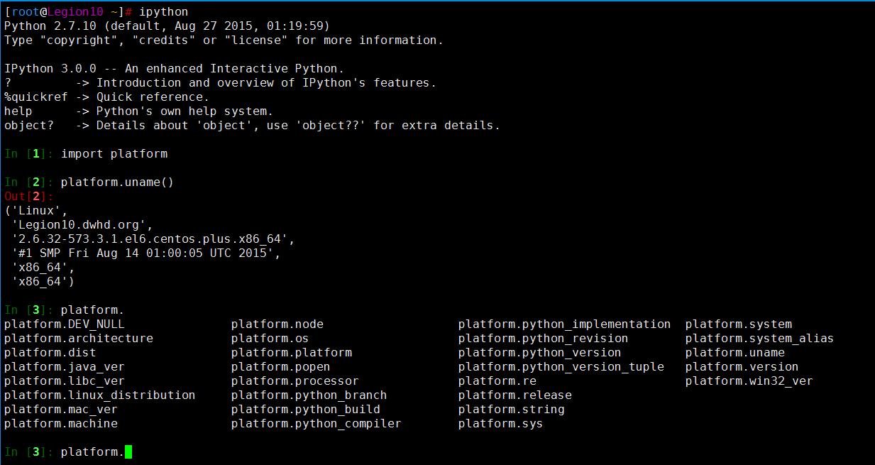 Linux之CentOS编译安装指定版本Python和安装iPython