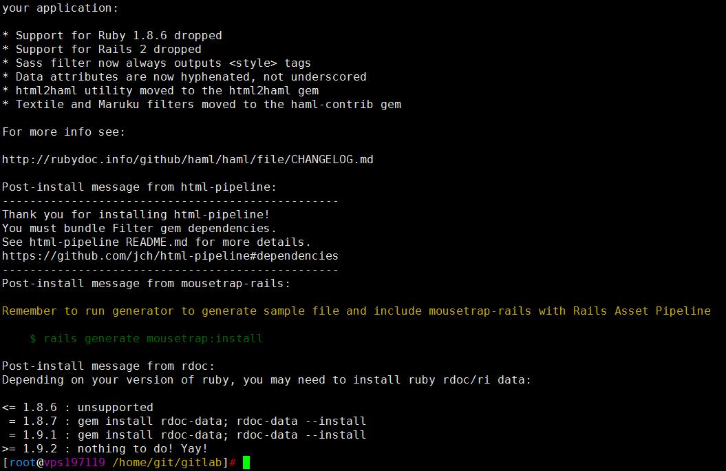 Linux之CentOS 6或者CentOS 7上全编译安装GitLab 8-1中文版