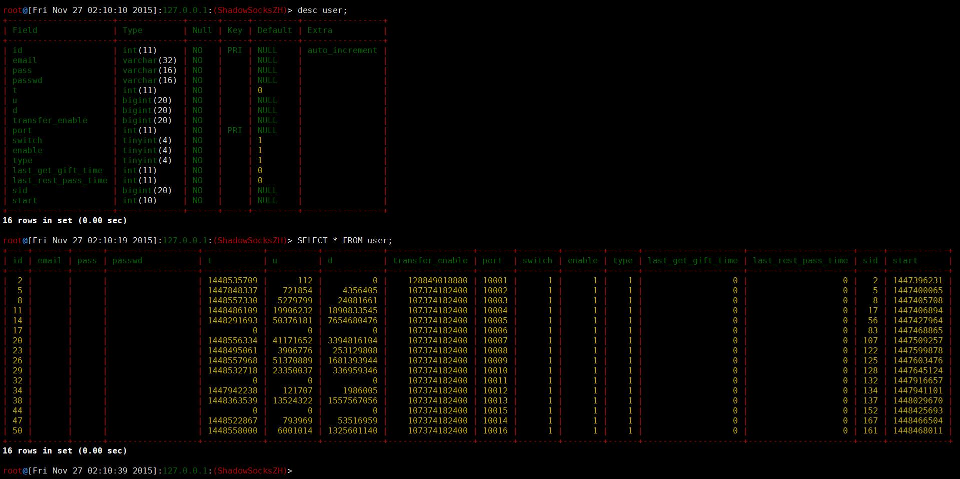 MySQL之设置个性prompt实现信息提示