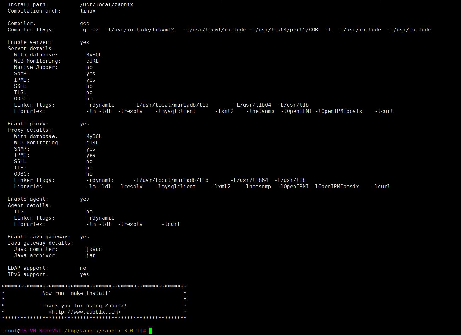 Linux之CentOS 7 安装Zabbix 3