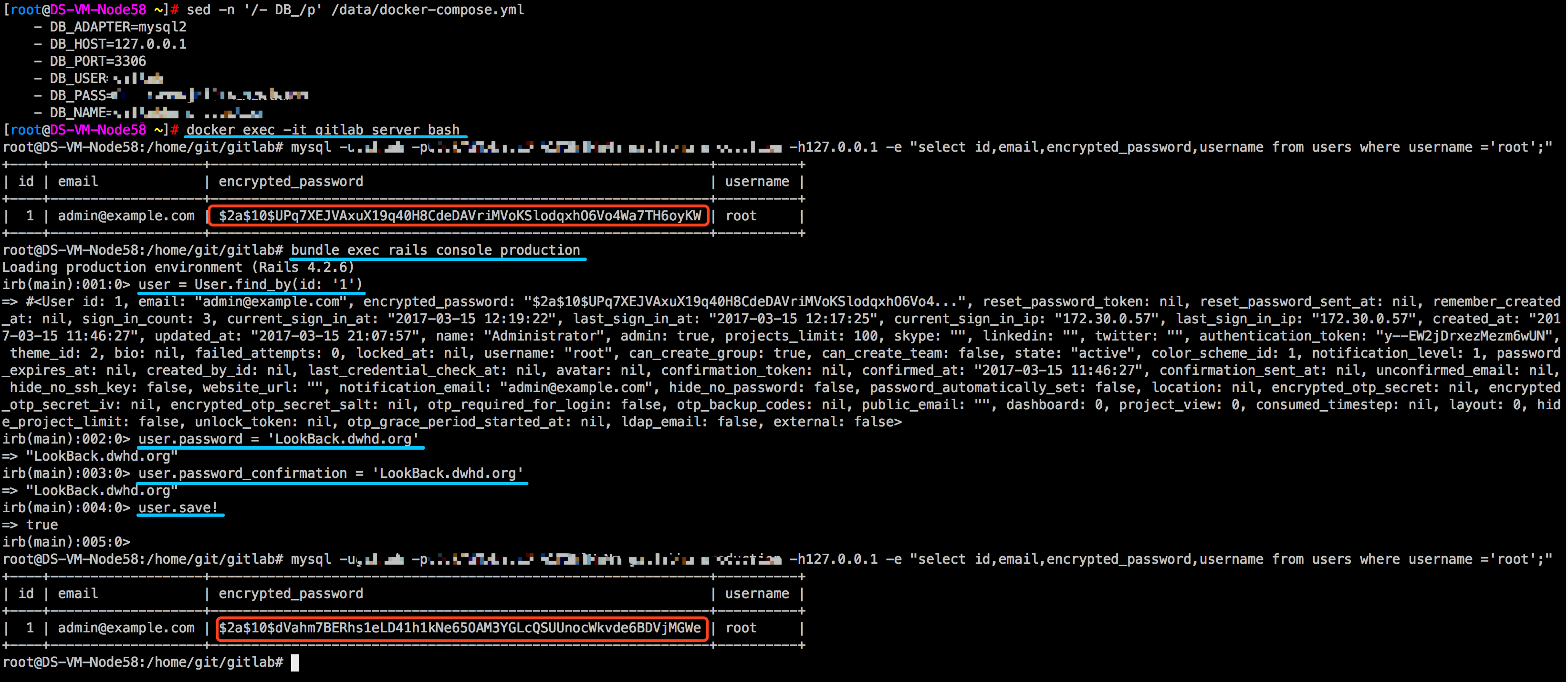 GitLab在重置用户密码 - 找回root密码