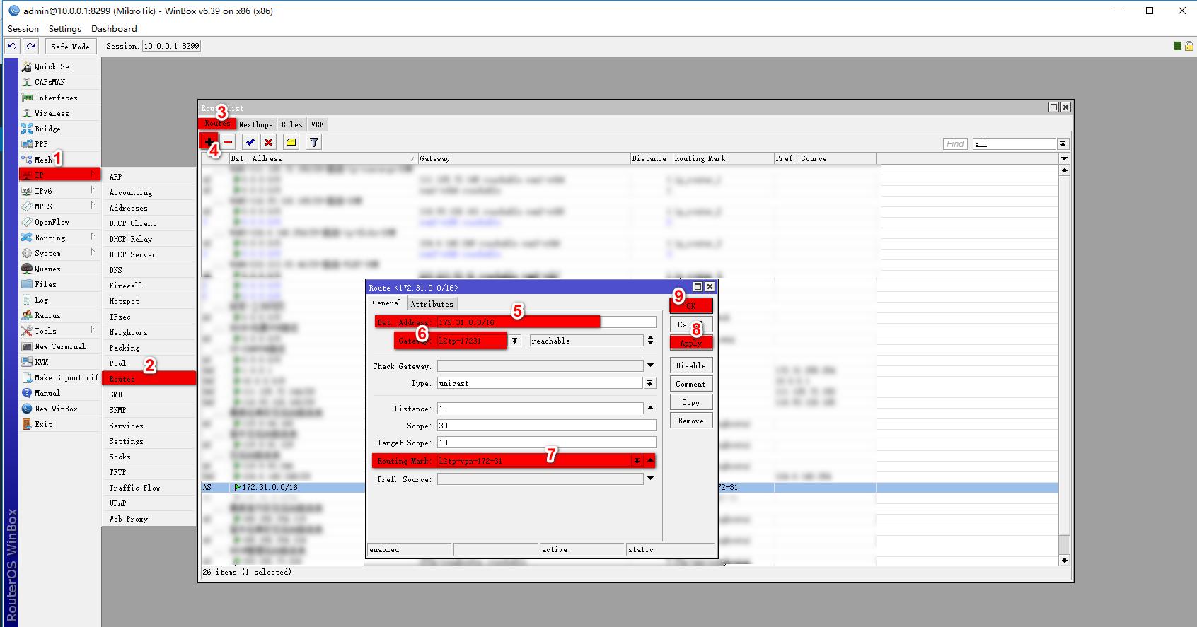 RouterOS路连接L2TP和SSTP VPN的方式来借线