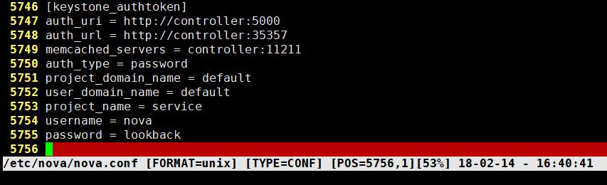 私有云 Openstack Ocata版安装(三)nova组件的安装和配置