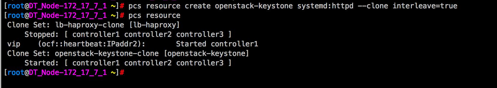 OpenStack-Queens详细安装部署(三)keystone集群