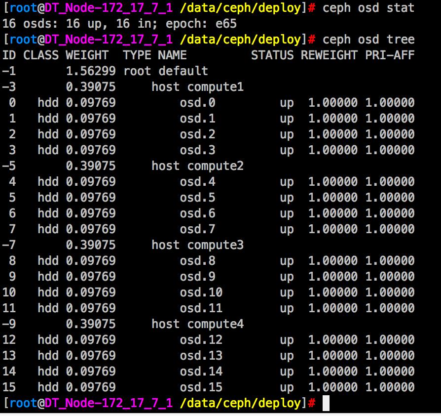 OpenStack-Queens详细安装部署(十)Ceph集群