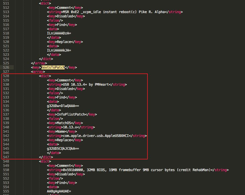 解决黑苹果升级10.13.4以后,usb3.0不能使用的问题